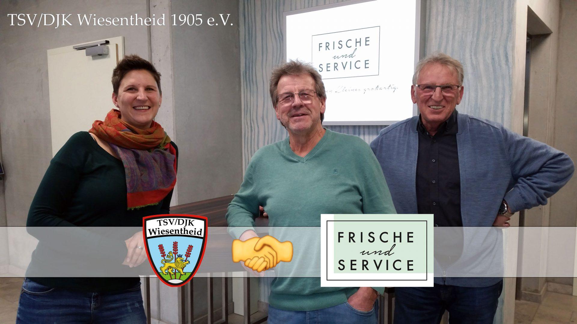 Frische & Service GmbH Sponsor TSV/DJK Wiesentheid 1905 e.V.